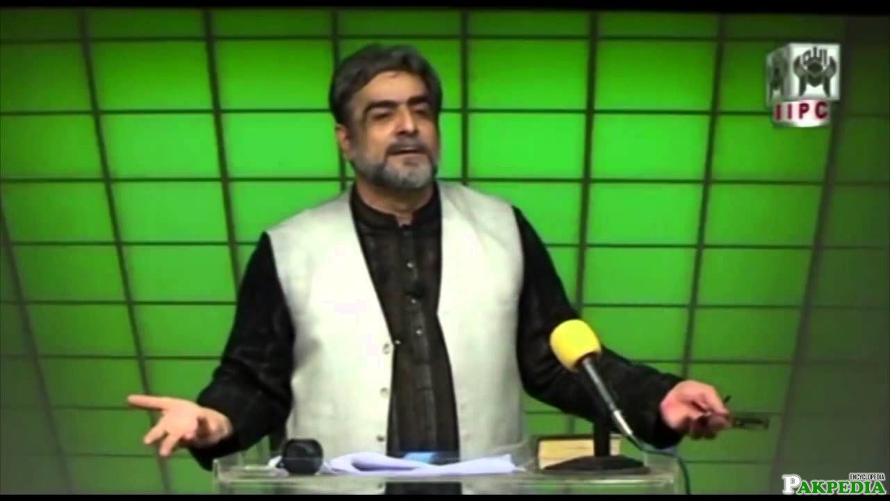 Mohammad Shaikh decided to seek a civilian role
