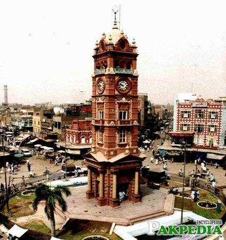 Clock tower Faisalabad