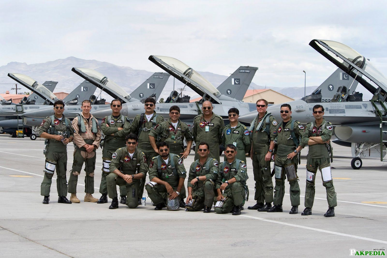 Pakistan Air Force A Group Photo