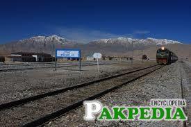 Zhob Rail Track