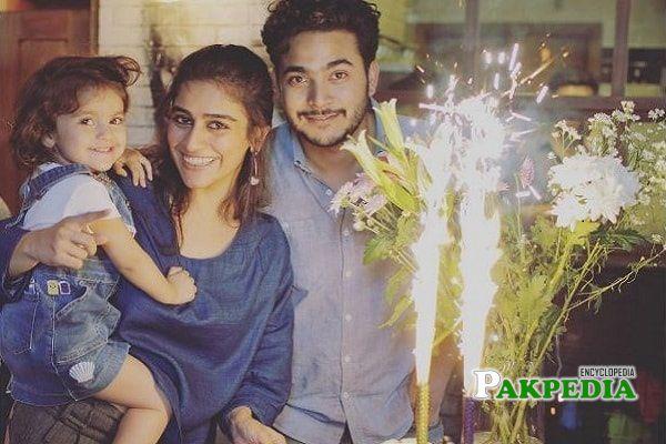Alishba Yousaf Family