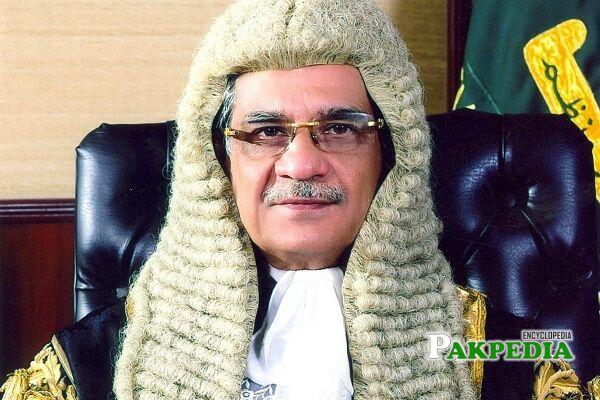 Saqib Nisar Cheif Justice