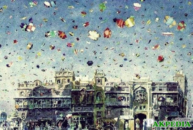 Jashn-e-Baharan or Basant Maila or kite flying festival has become a very strong tradition in the Eastern Province of KSA