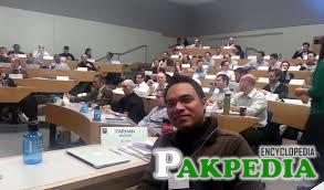 Farhan Masood in Room