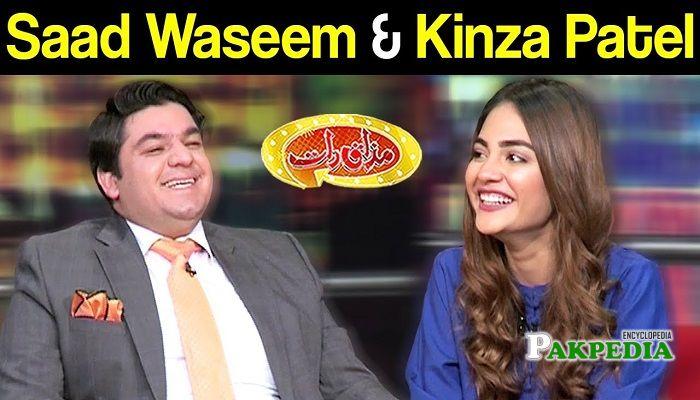 Saad Waseem Sheikh in Mazak raat