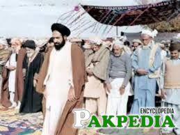 Allama shaheed while leading prayer