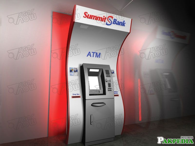 Summit Bank ATM Machine