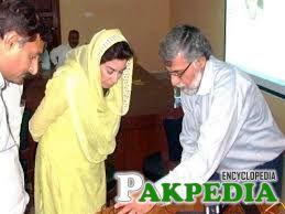 Fahmida Mirza member of PPP