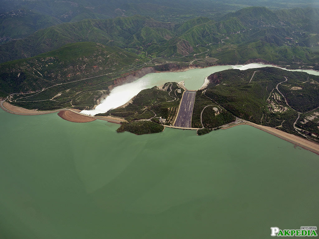 Tarbela Dam is one of the world's largest earth and rock filled Dam