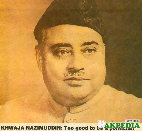 Khawaja Nazimuddin The Great Legend