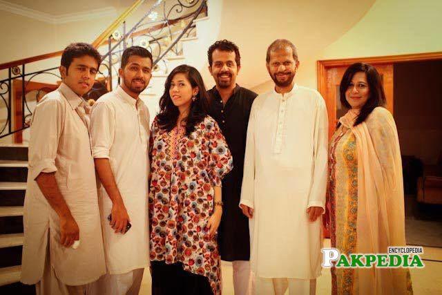 Family photo of Taha Siddiqui