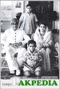 Liaquat Ali's second marriage took place in 1933. His wife Begum Ra'ana was a distinguished economist and an educationist who stood by her husband