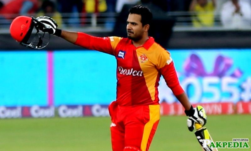 Sharjeel Khan in PSL