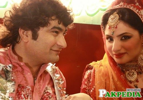 Wedding picture of Danish Nawaz
