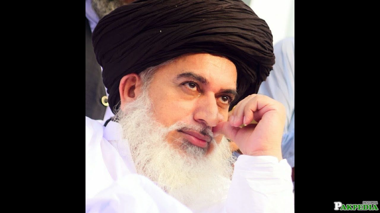 Allama khadim Hussain Rizvi Islamic Scholar