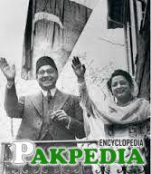 Liaquat Ali Khan with Wife