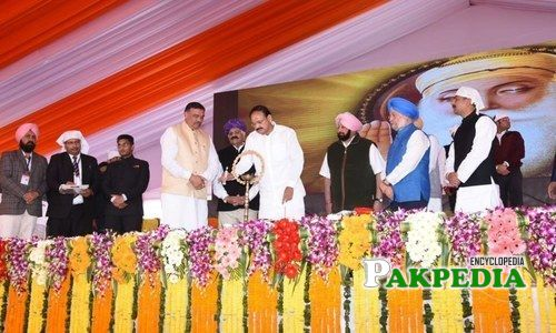 Laid foundation of Kartarpur Corridor
