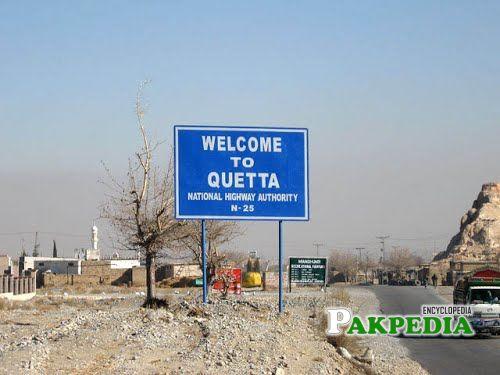 City of Quetta
