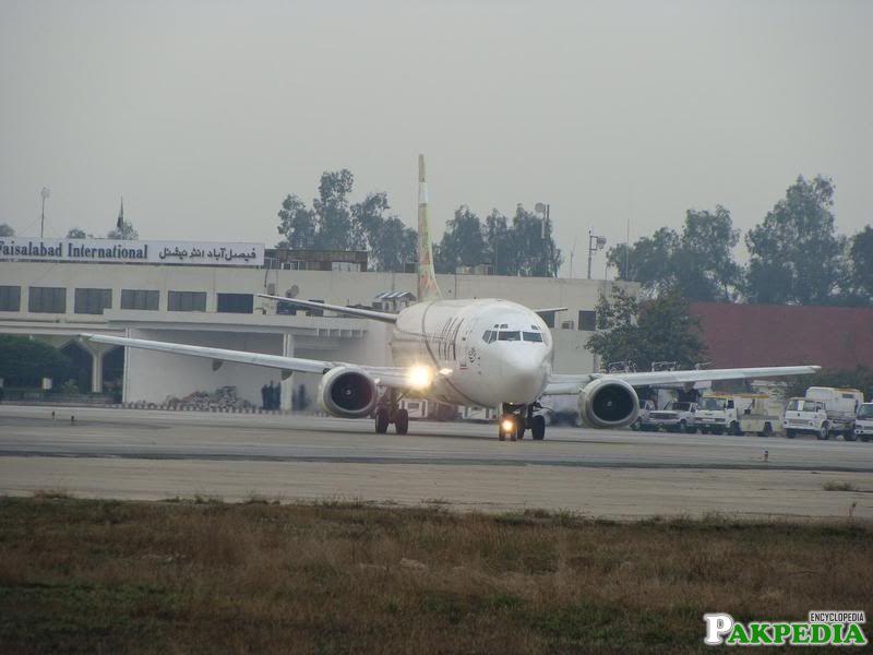 Faisalabad Airport Taking Flight