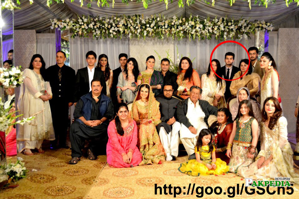 In his sister's walima