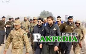 Shahid Afridi also belongs from Khyber Agency