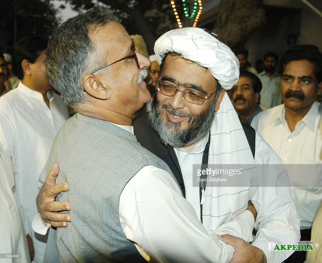 With Aftab Ahmed Sheikh