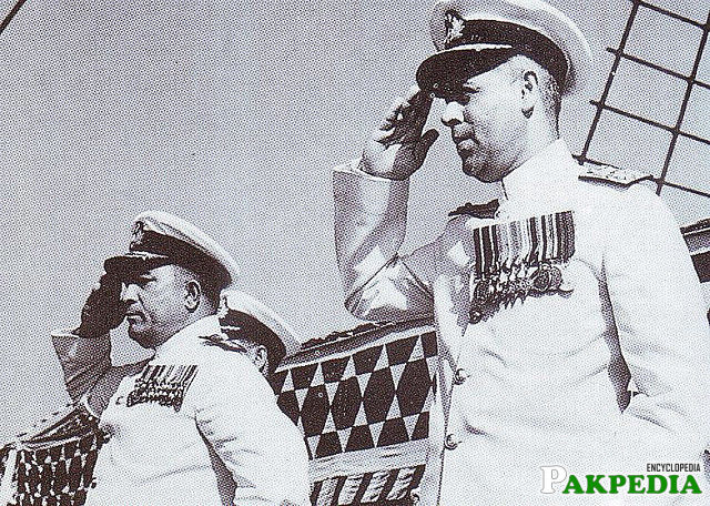 Syed Mohammad Ahsan going Salute