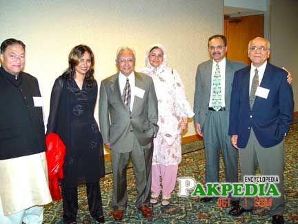 Drs. Busharat Ahmad, Amna Buttar, Rashid Piracha, Mrs Piracha