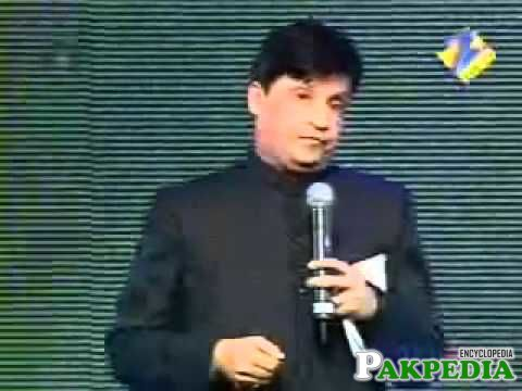 Umer Sharif in Zee Awards
