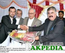 Khan Achakzai with CM Of Balochistan
