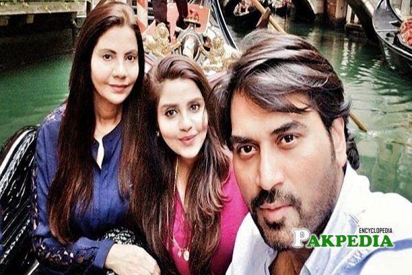 Humayun Saeed Family