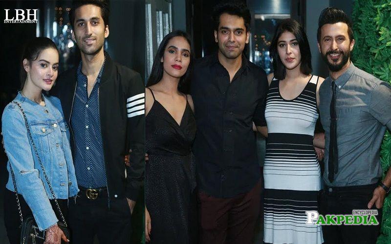 Faizan at the success party of his serial