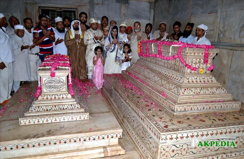 Burial of Shah Jahan