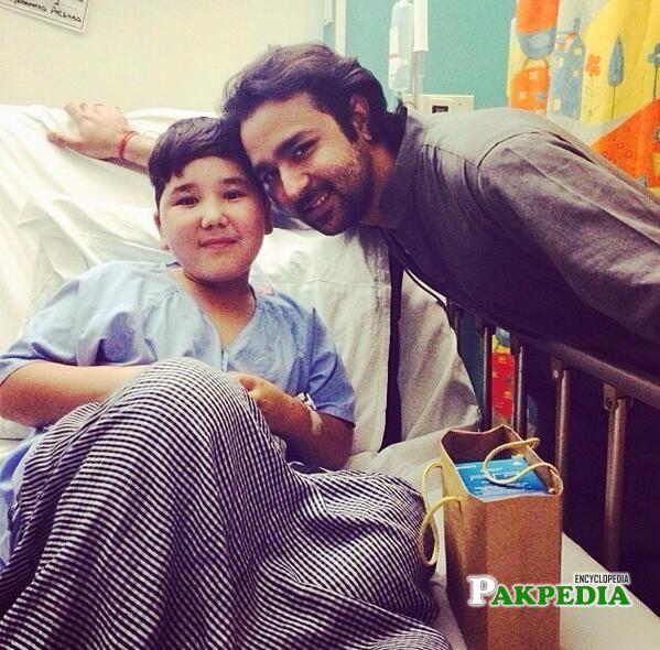 With Ibtihaj Hazara