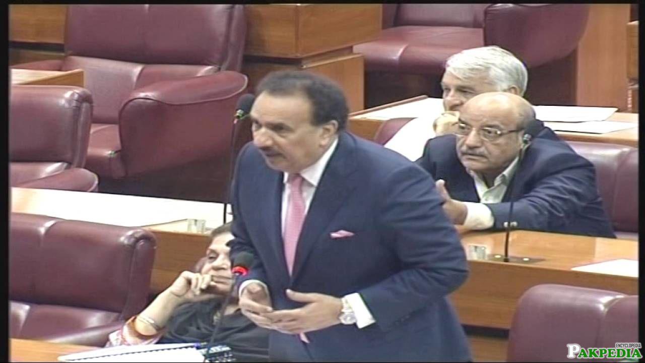 Senator Abdul Rehman Malik address to the Joint Session of Parliament of Pakistan on KASHMIR Issue