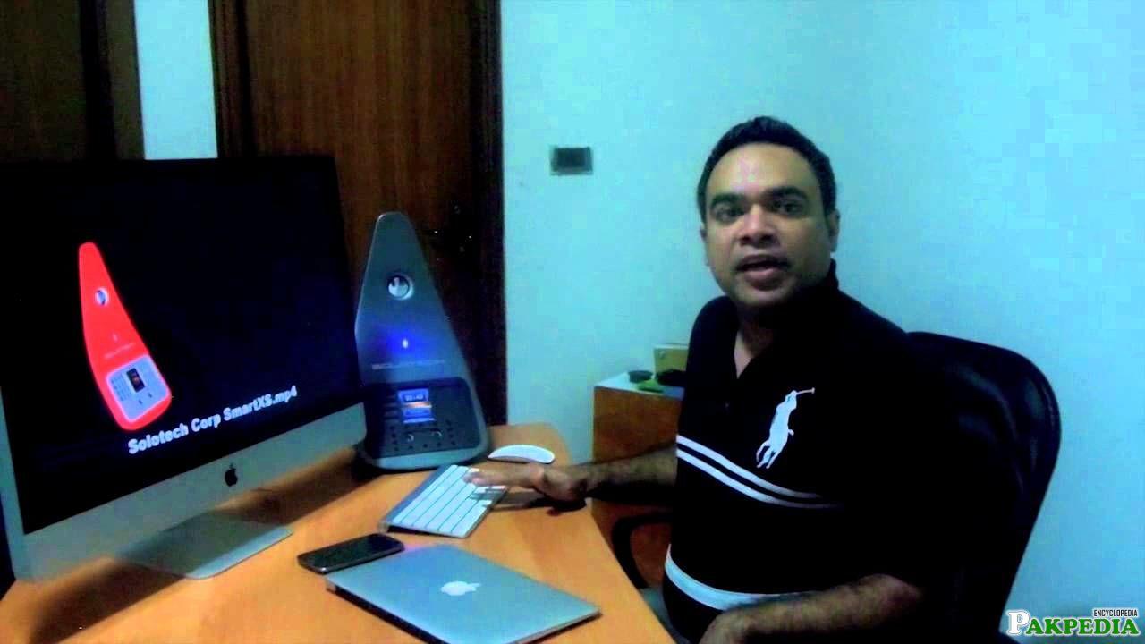 Farhan Masood in Office