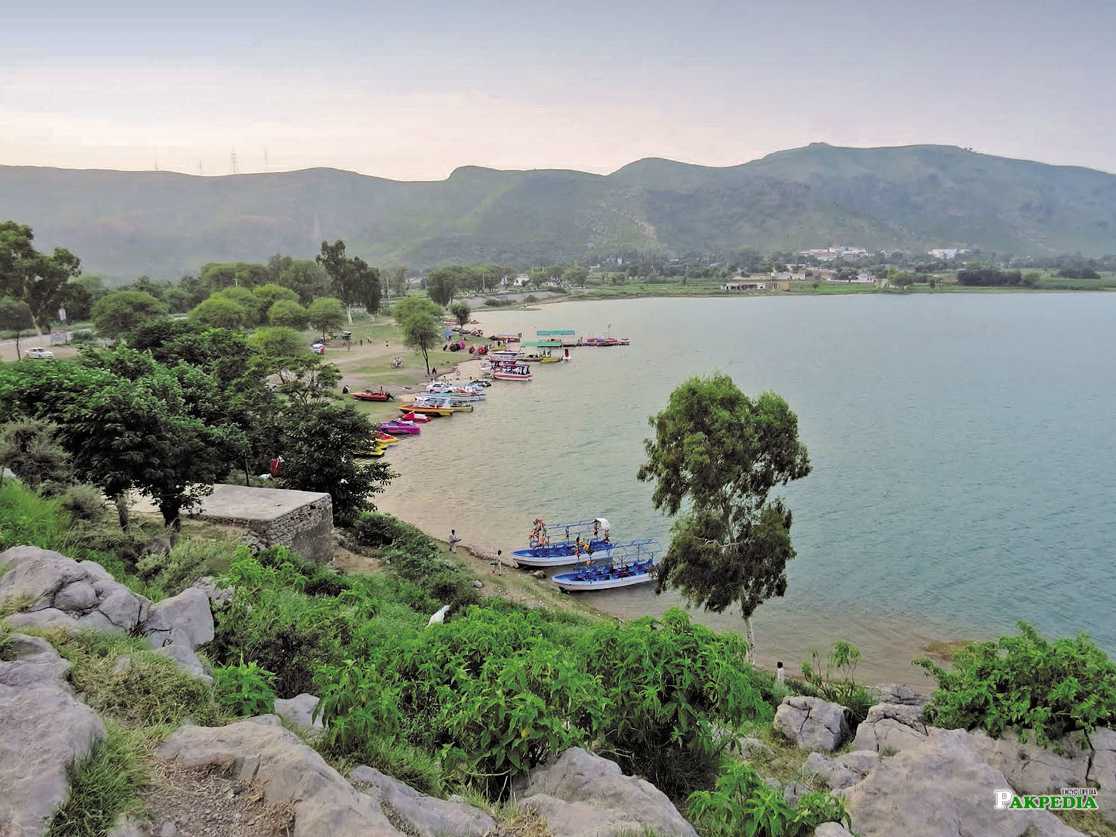 Khanpur is the best place for holidays