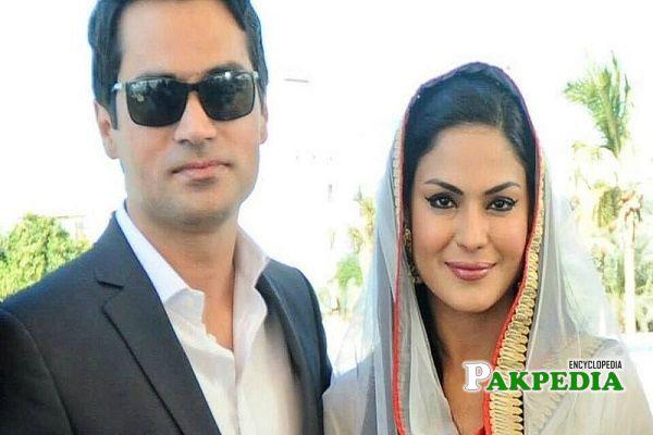Veena Malik Husband