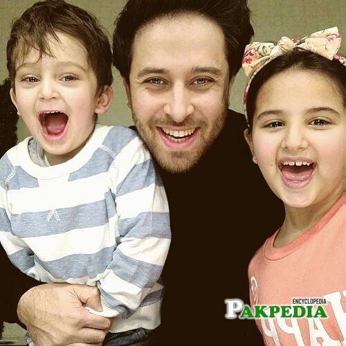 Haroon Shahid Family