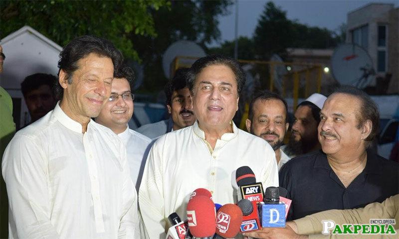 Naeem Bokhari & Imran Khan