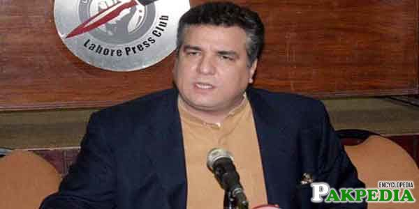Daniyal Aziz in TV Show