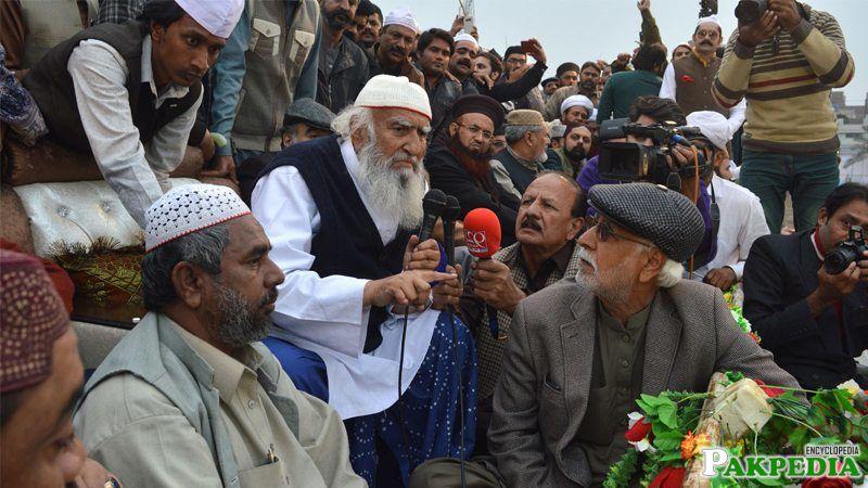 Hameed sialvi ,Jalsa in faisalabad