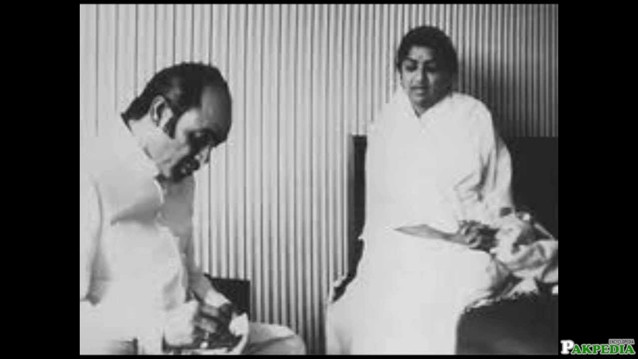 Mehdi Hassan with Lata