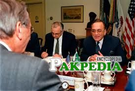 Khurshid Mahmood Kasuri is a diplomatic person