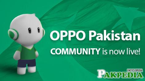 Oppo Pakistan Community Mobile Phone
