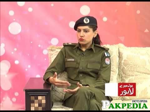 Dr Anoosh Masood live in talk show