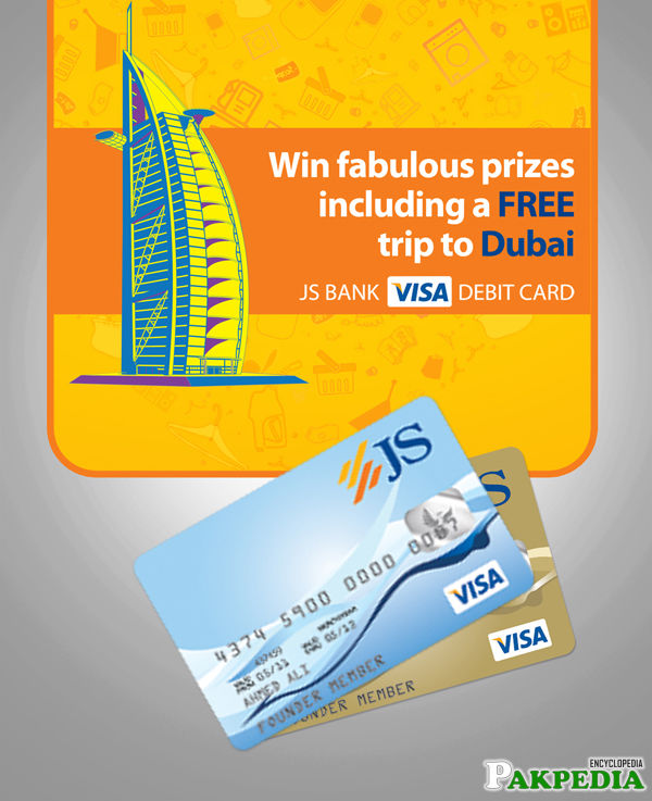 JS Bank Atm Card