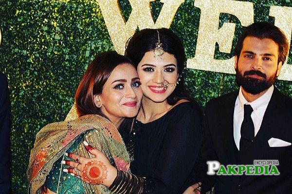 Zarnish with Asad and Zara Noor Abbas