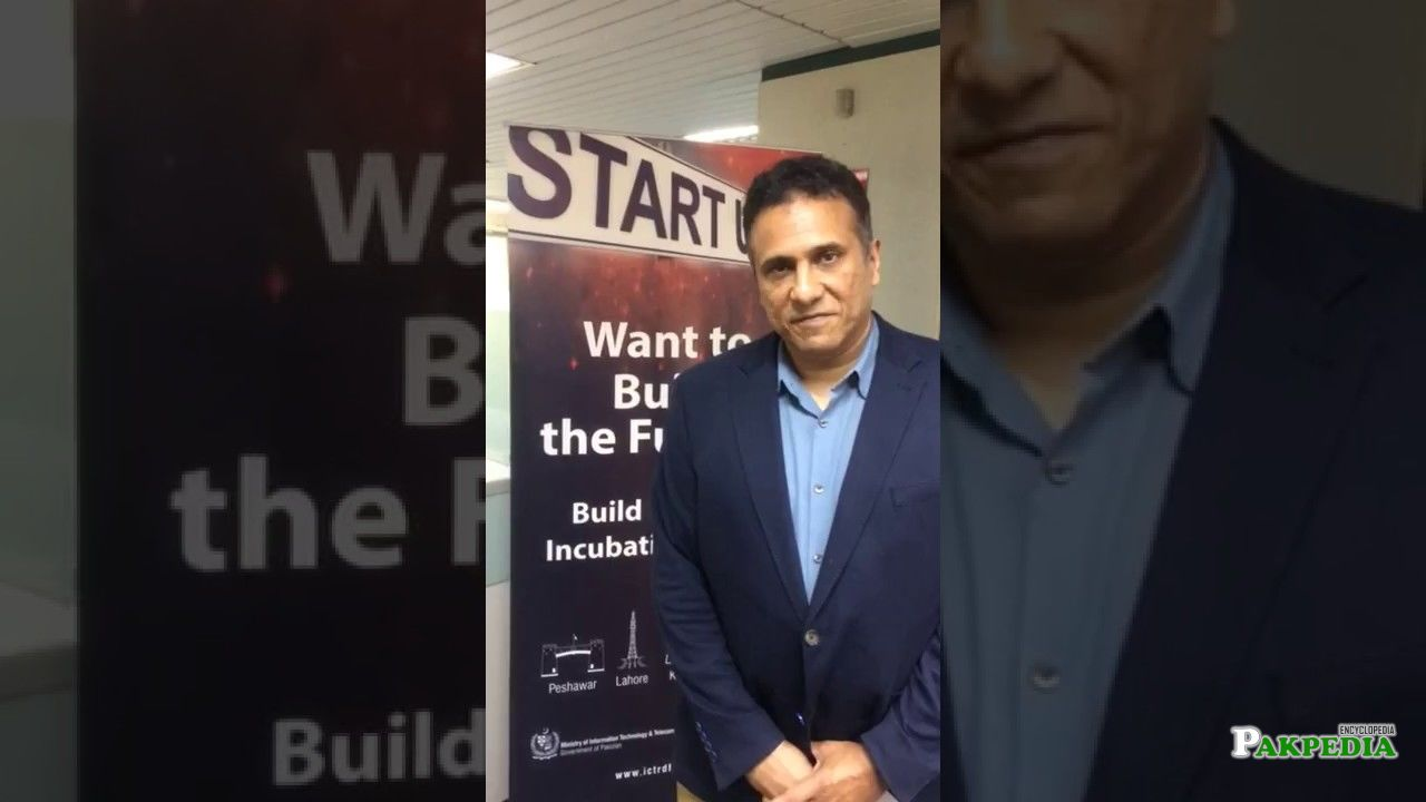 Mr YOusaf Hussain-CEO of Ignite