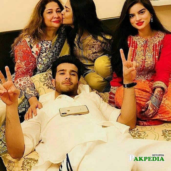 Feroze Khan Family